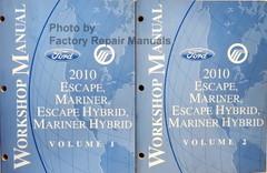 2010 Escape, Mariner, Escape Hybrid, Mariner Hybrid Workshop Manual Volume 1, 2