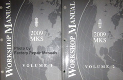 2009 Lincoln MKS Workshop Manual Volume 1 and 2