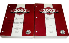 2004 Buick Park Avenue Service Manual Volume 1 and 2