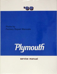 1968 Plymouth Service Manual