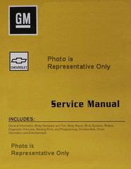 2015    Chevy    Impala    Factory    Service Manual    Set    Original Shop Repair     Factory    Repair Manuals