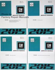 2015 Chevy Volt Service Manual Volumes 1 thru 4