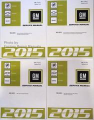 2015 Buick Enclave Chevy Traverse GMC Acadia Factory Shop Service Manual Volume 1, 2, 3, 4