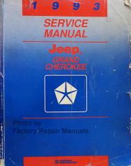 1993 Service Manual Jeep Grand Cherokee