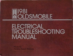 1981 Oldsmobile Electrical Troubleshooting Manual