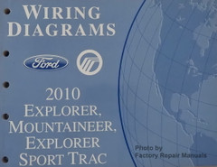 2010 Ford Explorer, Sport Trac Mercury Mountaineer Wiring Diagrams