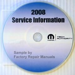 2008 Dodge Viper Mopar Service Information
