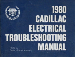 1980 Cadillac Electrical Troubleshooting Manual