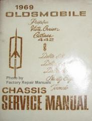 1969 Oldsmobile F85, Vista Cruiser, Cutlass, 442 Delta 88, 98, Tornado Chassis Service Manual