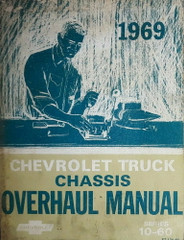 1969 Chevy Truck Suburban Van Overhaul Repair Manual