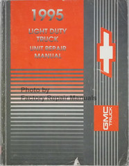 1995 GMC Chevrolet Light Duty Truck Unit Repair Manual