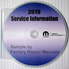 2015 Dodge RAM 3500 4500 5500 Chassis Cab Service Information CD