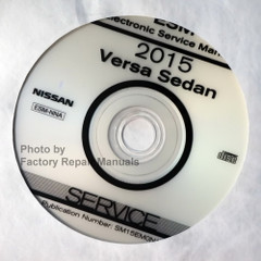 2015 Nissan Versa Sedan Electronic Service Manual