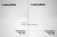 1990 Acura Integra Service Manual Volumes 1 and 2