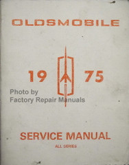1975 Oldsmobile 98, Cutlass, Cutlass Supreme, Custom Cruiser, Delta 88, Omega, Tornado, Vista Cruiser, Chassis Service Manual