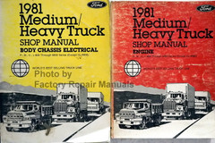 1981 Ford Medium / Heavy Duty Truck Service Manuals