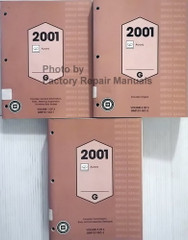2002 Oldsmobile Aurora Service Manuals Volume 1, 2, 3