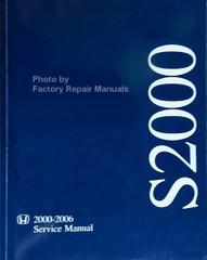 2000-2006 Honda S2000 Service Manual