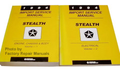 1994 Service Manual Stealth Volume 1, 2