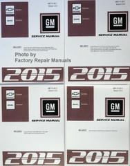 Chevrolet Express GMC Savana GM Service Manual 2015 Volume 1, 2, 3, 4