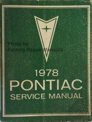 1978 Pontiac Service Manual