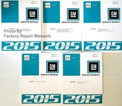 2015 Chevrolet Camaro Service Manual Volume 1, 2, 3, 4, 5