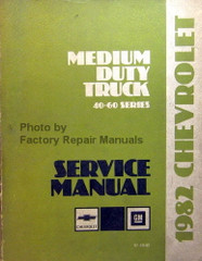 1982 Chevy GMC Medium Duty Truck 40-60 Series Service Manual