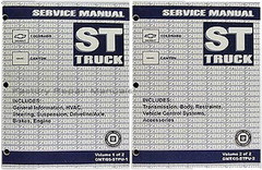 2005 GM ST Truck Chevrolet Colorado GMC Canyon Service Manual Volume 1, 2