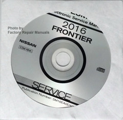 2016 Nissan Frontier Service Manual CD-ROM