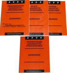 2000 Durango Diagnostics Procedures Manuals