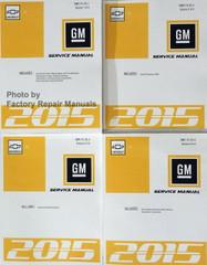 2015 Chevrolet SS Service Manuals Volumes 1 thru 4