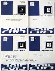 2015 Cadillac SRX Service Manuals Volume 1, 2, 3, 4