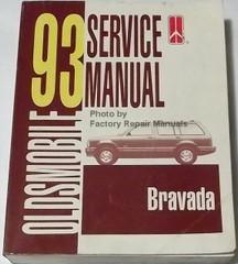 1993 Oldsmobile Service Manual Bravada