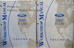 2005 Ford F250 F350 F450 F550 Super Duty Truck Electrical ...