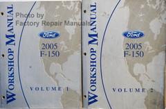 2005 Ford F150 Workshop Manual Volume 1, 2