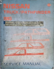 1992 Nissan Truck/Pathfinder Service Manual Revised Edition