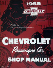 1955 Chevrolet Passenger Car Shop Manual