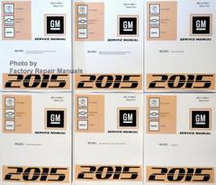2015 GM CKUV Chevy Tahoe Suburban GMC Yukon Denali Cadillac Escalade Service Manual Volume 1 - 6