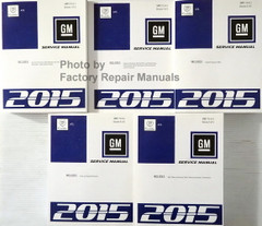 2015 Cadillac ATS Service Manual Volume 1, 2, 3, 4, 5