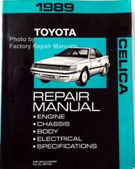 1989 Toyota Celica Repair Manual
