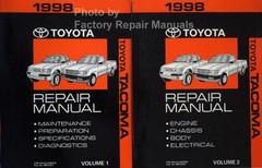 1998 Toyota Corolla Electrical Wiring Diagrams Original ...