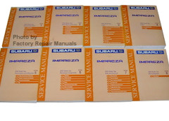 2000 Subaru Impreza Factory Service Manual Set Original Shop Repair