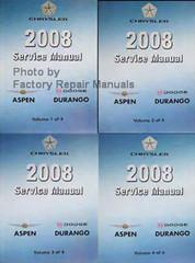 2008 Service Manual Chrysler Aspen Dodge Durango