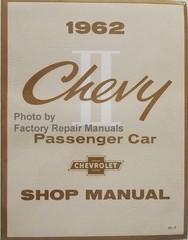 1962 Chevy II Passenger Car Shop Manual