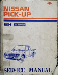 1984 Nissan Truck Model 720 Series Service Manual