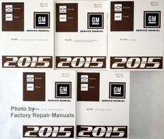 GM Service Manual Chevrolet Colorado GMC Canyon Volumef 1, 2, 3, 4. 5
