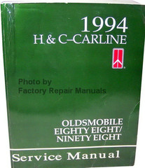 1994 Oldsmobile Nighty Eight, Eighty Eight Service Manual