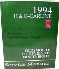1994 Oldsmobile Nighty Eight, Eighty Eight Service Manual