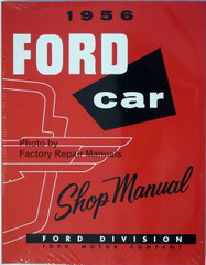 1956 Ford Car Shop Manual