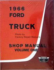 1966 Ford Truck Shop Manual Volume 1, 2, 3, 4